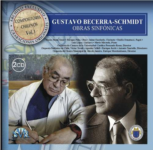 Exclusive Archive, Vol. 1: Symphonic Works by Gustavo Becerra (2CDs)
