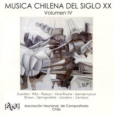 Chilean Music of the 20th Century, Volume IV