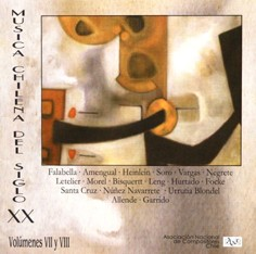 Música Chilena do Século XX, Volumes VII e VIII (2 CDs)