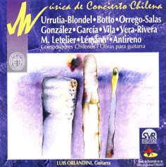 Concert Music of Chile: Works for Acoustic Guitar