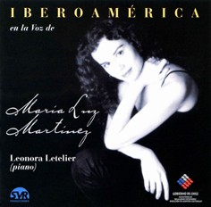 Iberia and America in the voice of María Luz Martínez