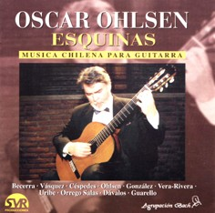 Óscar Ohlsen: Corners - Chilean Music for Acoustic Guitar