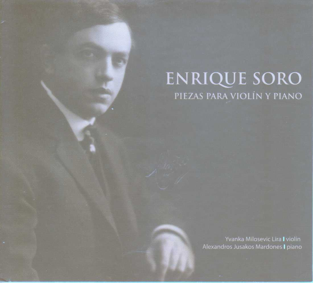 Enrique Soro: Pieces for Violin and Piano