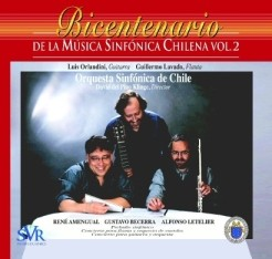 Bicentenary of the Chilean Symphonic Music, Vol. 2