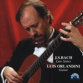 Bach - Lute Suites in the acoustic guitar of Luis Orlandini