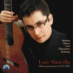 Luis Mancilla: Works for Acoustic Guitar 1954/1987