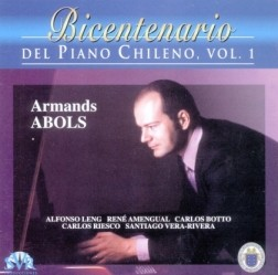 Bicentenary of the Chilean Piano, Vol. 1