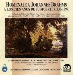 Tribute to Brahms Hundred Years After his Death
